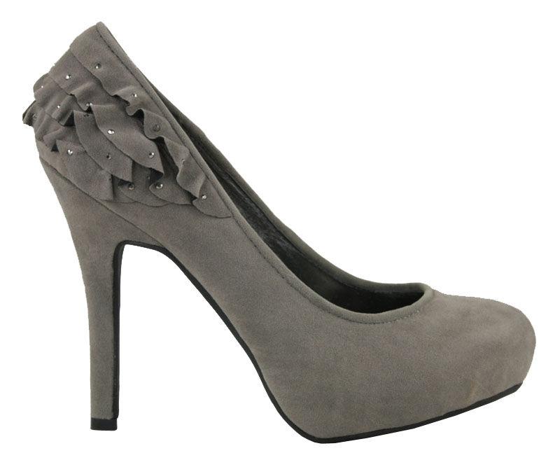 high heeled platform shoes payless store