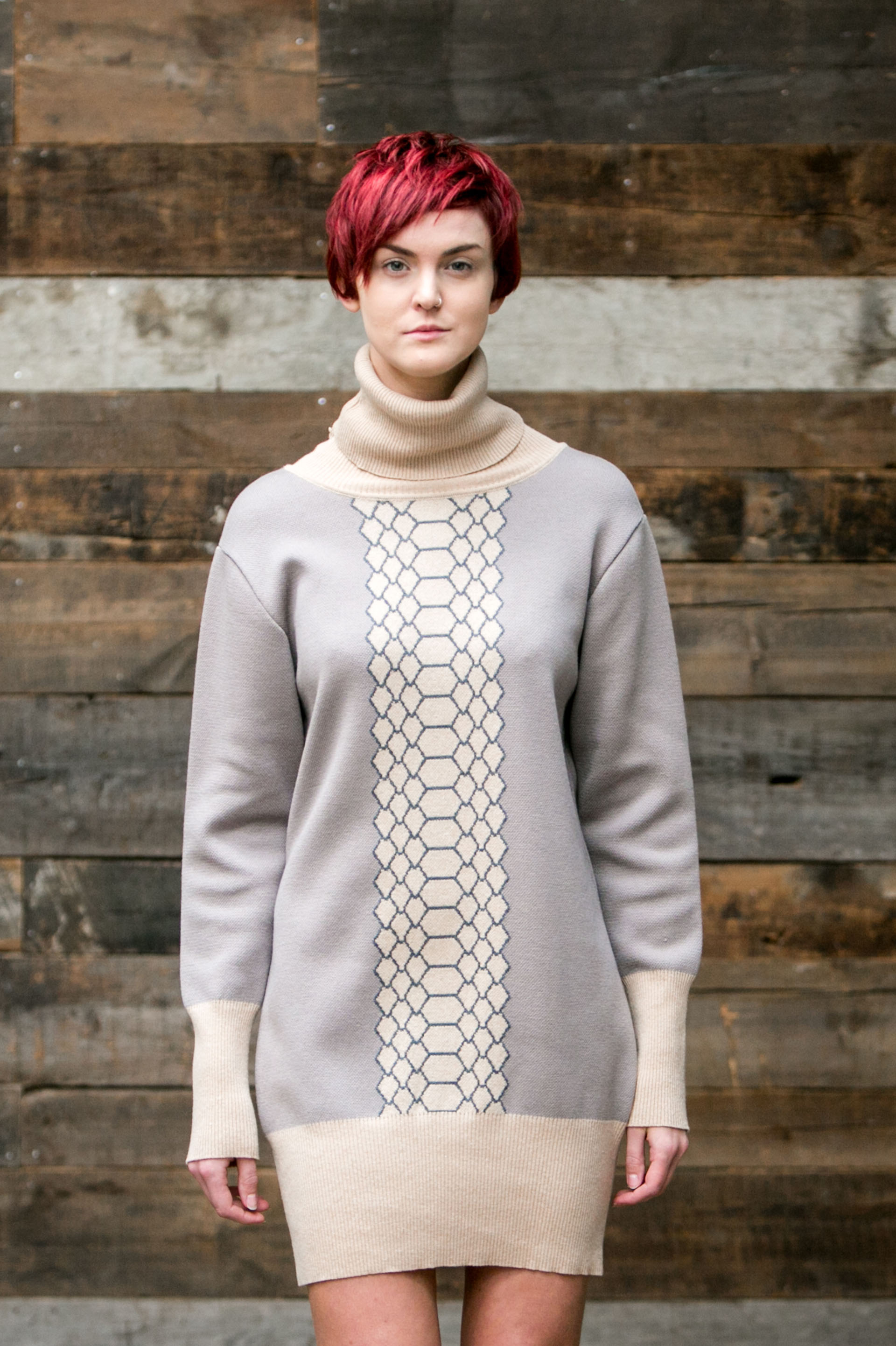 Claire Andrew Ladies Designer Fashion Autumn Winter 16 The Jumper Project