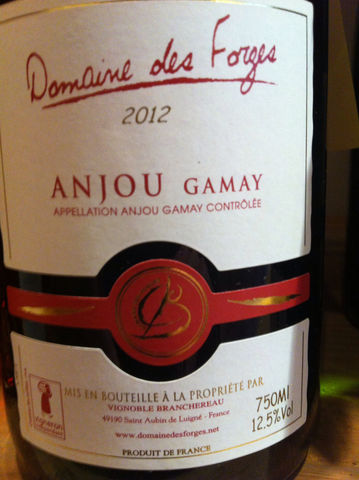 Forges,Anjou,Gamay,2013,Europa Wine Merchant,France,Loire Valley