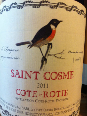 St.,Cosme,Cote,Rotie,2012,Europa Wine Merchant,France,N. Rhone Valley