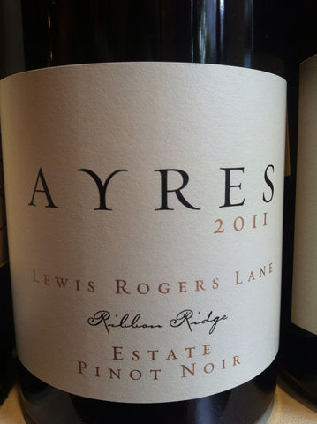 Ayres,Pinot,Noir,Lewis,Rodgers,2014,Europa Wine Merchant,United States,Willamette Valley