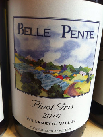 Belle,Pente,Pinot,Gris,2011,Europa Wine Merchant,United States,Willamette Valley