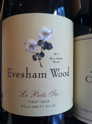 Evesham,Wood,Pinot,Noir,Le,Puits,Sec,2014,Europa Wine Merchant,United States,Willamette Valley