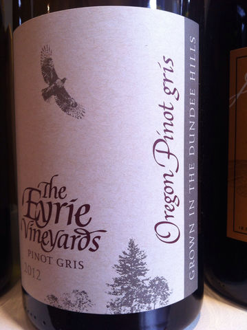 Eyrie,Pinot,Gris,Estate,2014,Europa Wine Merchant,United States,Willamette Valley