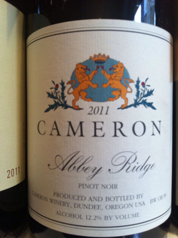 Cameron,Pinot,Noir,Abbey,Ridge,Dundee,Hills,2014,Europa Wine Merchant,United States,Willamette Valley