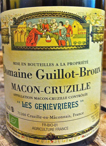 Guillot-Broux,Macon-Cruzille,Les,Genievrieres,2014,Europa Wine Merchant,France,Burgundy