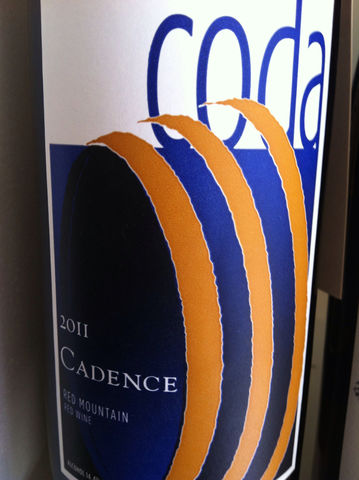 Cadence,Coda,Red,Mountain,2013,Europa Wine Merchant,United States,Columbia Valley