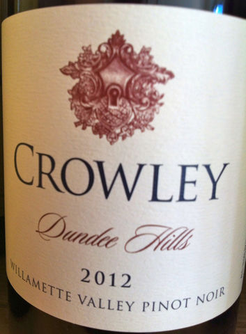 Crowley,Pinot,Noir,Dundee,Hills,2014,Europa Wine Merchant,United States,Willamette Valley