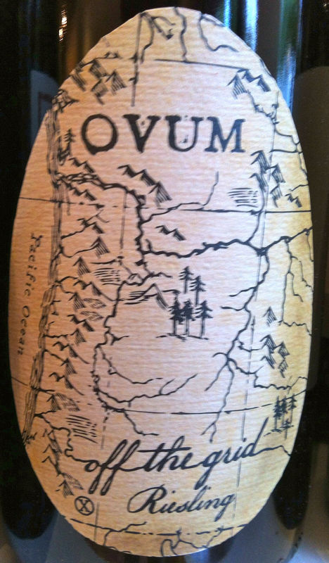 Ovum Off the Grid Riesling Illinois Valley 2015 - product image