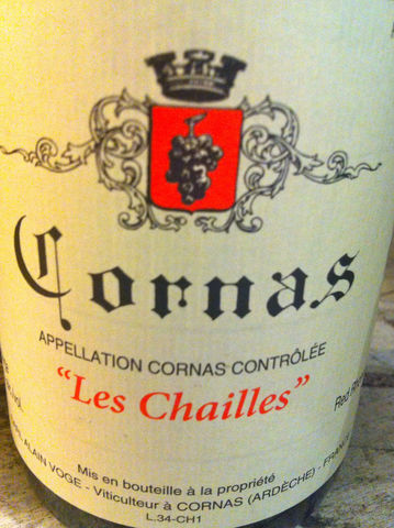 Voge,Cornas,Les,Chailles,2013,Europa Wine Merchant,France,N. Rhone Valley