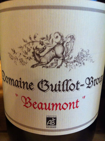 Guillot-Broux,Macon-Cruzille,Beaumont,2014,Europa Wine Merchant,France,Burgundy