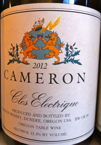Cameron,Clos,Electrique,Rouge,Pinot,Noir,Dundee,Hills,2014,Europa Wine Merchant,United States,Willamette Valley