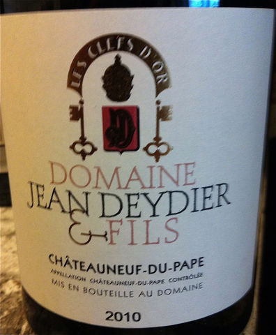 Jean,Deydier,Chateauneuf,du,Pape,2009,Europa Wine Merchant,France,S. Rhone Valley