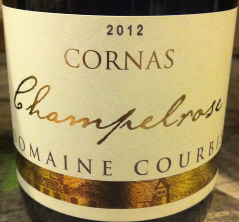 Courbis,Cornas,Champelrose,2012,Europa Wine Merchant,France,N. Rhone Valley