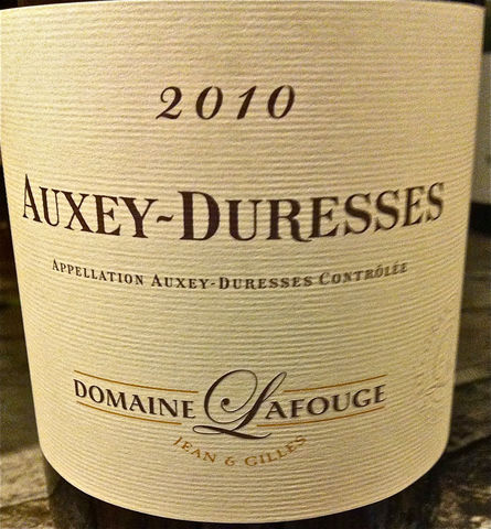 Lafouge,Auxey,Duresses,Rouge,2010,Europa Wine Merchant,France,Burgundy