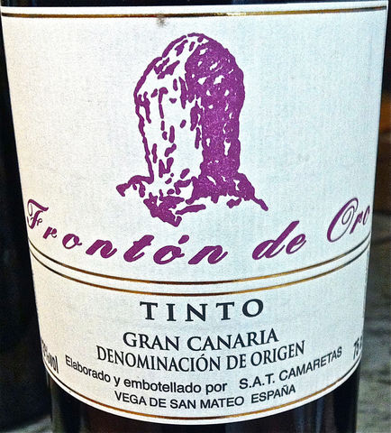 Fronton,d'Oro,Tinto,Gran,Canaria,2012,Europa Wine Merchant,Spain,Canary Islands