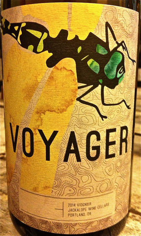 Jackalope,Voyager,Viognier,Rogue,Valley,2015,Europa Wine Merchant,United States,Southern Oregon