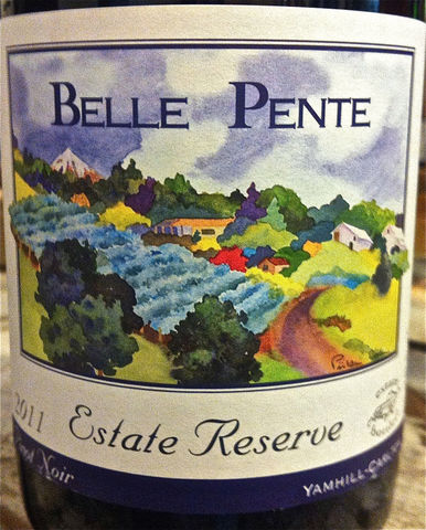 Belle,Pente,Pinot,Noir,Estate,Reserve,2012,Europa Wine Merchant,United States,Willamette Valley
