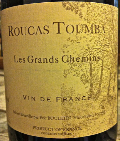 Roucas,Toumba,Les,Grandes,Chemin,2013,Europa Wine Merchant,France,S. Rhone Valley