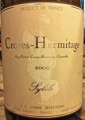J.L.,Chave,Selections,Crozes,Hermitage,Sybele,Blanc,2006,Europa Wine Merchant,France,N. Rhone Valley