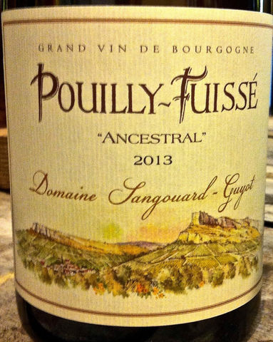 Sangouard-Guyot,Pouilly,Fuisse,Ancestral,2013,Europa Wine Merchant,France,Burgundy