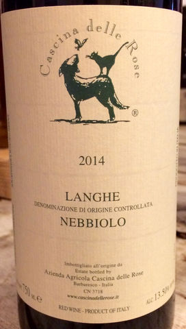 Cascina,delle,Rose,Langhe,Nebbiolo,2015,Europa Wine Merchant,Italy,Piedmont