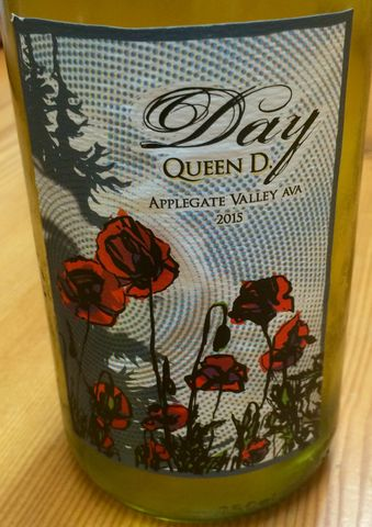 Day,Queen,D,2015,white rhone, southern oregon wine,