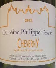 Phillipe,Tessier,Cheverny,Blanc,2015,natural wine