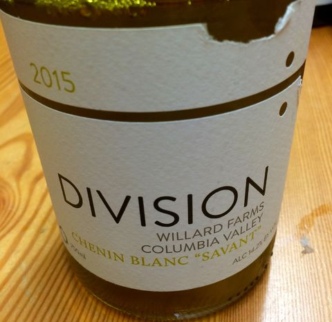 Division,Winemaking,Co.,Chenin,Blanc,Savant,2015