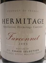 J.L.,Chave,Hermitage,Rouge,Farconnet,2011