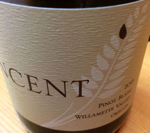 Vincent,Pinot,Blanc,Willamette,Valley,2015,Pinot Noir Willamette Valley, Oregon