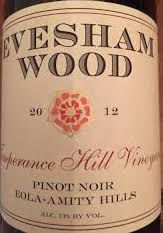 Evesham,Wood,Pinot,Noir,Temperance,Hill,Eola-Amity,2014,Europa Wine Merchant,United States,Willamette Valley