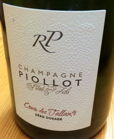 Piollot,Champagne,Pinot,Noir,Zero,Dosage,Come,des,Tallants,NV,Europa Wine Merchant,France