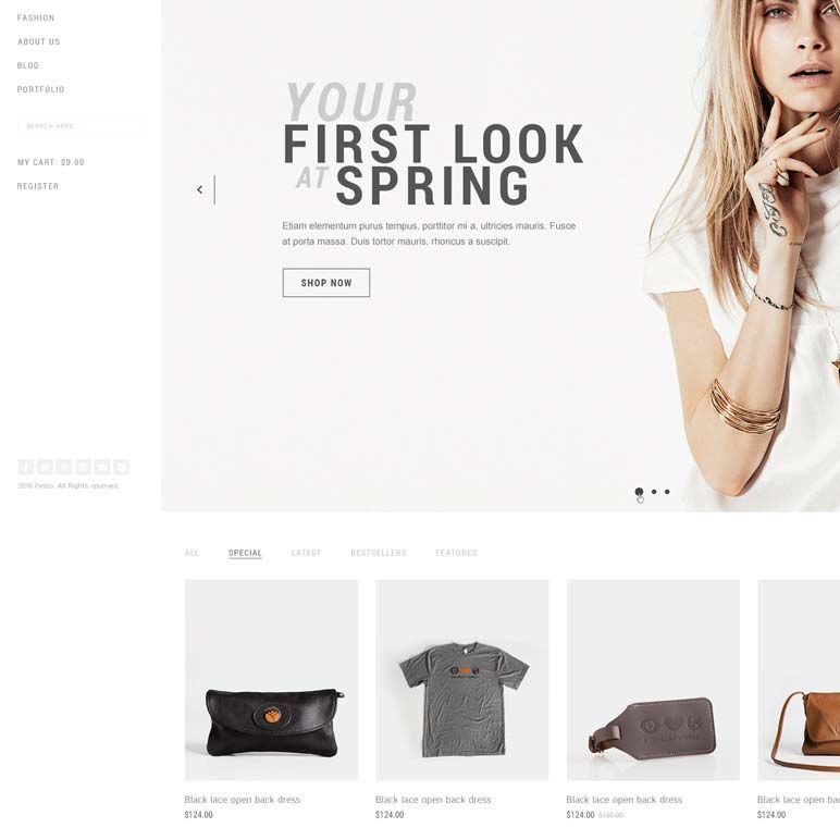 Customising the design of your store & website - product images  of