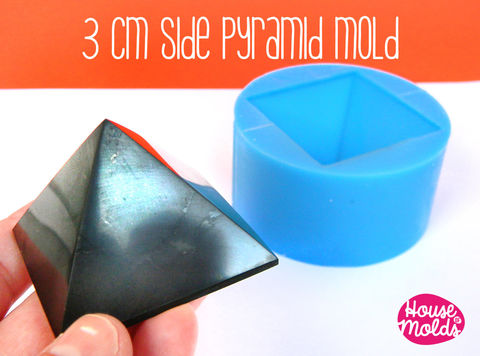 Pyramid,3,cm,x,side,,Mold,for,3D,Pyramid-HOUSE,OF,MOLDS-,Supplies,silicone_mold,clear_mold,mold_for_resin,resin_supplies,resin_molds__jewelry,pyramid_mold,molds_for_candles,mold_for_pyramid,orgone_pyramid,pyramid_resin,clear_mold_pyramid,mold_for_cardholder,concrete_mold,clear rubber
