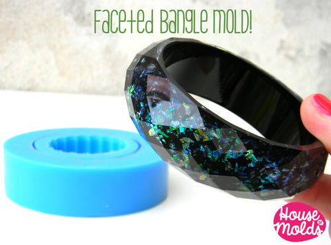Classic,Bold,Faceted,bangle,Mold,,flexible,silicone,mold,for,resin,bangles-68,mm,inner,diameter,Jewelry,Bracelet,silicone_mold,mold_for_bangle,bracelet_mold,etsyitaliateam,resin_supplies,flexible_mold,silicone_rubber_mold,resin_bracelet_mold,resin_bangle_mold,bangle_mould,faceted_bangle,flower_resin_bangle,silicone rubber,LOve