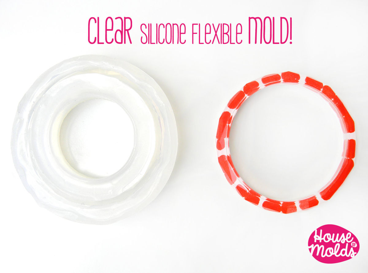 how to make thin clear silicone molds