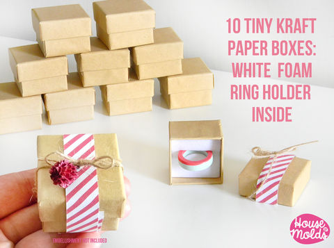 10,Kraft,Paper,Tiny,Jewelry,Boxes-37,mm,x,31,Blank,Boxes,for,rings-stud,earrings-pendants-keychains-pins-simple,to,customize-,Kraft Paper,Kraft cardboard boxSupplies,Kraft cardboard box,jewelry boxes,Kraft paper Box,resin_crafters,pendant_necklace,earrings display,packaging tags