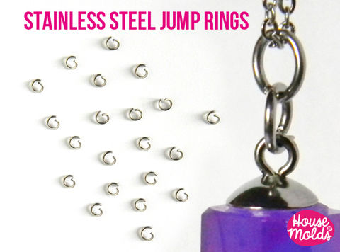 100,Stainless,Steel,Open,Jump,Rings,-6,mm,diameter,1,thickness,very,resistant,and,quickly,link,your,pendant,with,necklace,Stainless Steel Jump ring,Jewelry,Necklace,findings,resin_hole_bead,steel_chain,bead_supplies,resin_crafters,stainless_steel,chain,steel_necklace,pendant_chain,resin_chain,necklace_for_sphere,sphere_chain,pendant_necklace,nickel free,stainless steel