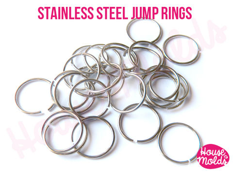 Stainless,Steel,Jump,Rings,-very,resistant,and,quickly,link,your,pendant,with,necklace,Stainless Steel Jump ring,Jewelry,Necklace,findings,resin_hole_bead,steel_chain,bead_supplies,resin_crafters,stainless_steel,chain,steel_necklace,pendant_chain,resin_chain,necklace_for_sphere,sphere_chain,pendant_necklace,nickel free,stainless steel