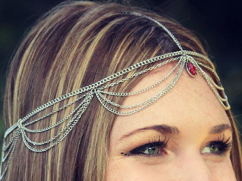 CHAIN,HEADPIECE-,head,chain/,headpiece,Accessories,Hair,chain,chain_headdress,hair_piece,belly_dance,chain_headband,headband,chain_head_piece,gypsy,headdress,hippie,goddess,wedding,bride_hair_piece