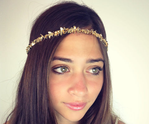 CHAIN,HEADPIECE-,chain,headdress,head,gold,or,a,silver,leafchain,Accessories,Hair,chain_headdress,hair_piece,chain_hair,belly_dance,chain_headband,headband,chain_head_piece,gypsy,hippie,wedding,Great_gatsby,goddess