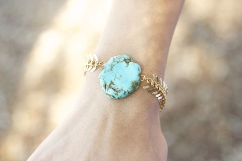 Gold,chain,and,turquoise,stone,bracelet,turquoise head chain, head piece, head chain , headchain, bracelet, necklace, turquoise necklace