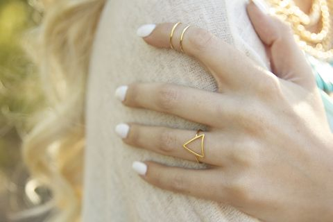 Triangle,geometric,ring,in,gold,or,silver,Chevron, geometric, Jewelry,Ring,Stone,turquoise,jewelry,turquoise_jewelry,wire_wrapped_ring,festival_jewelry,festival_accessories,turquoise_ring,boho,summer,stone,wire