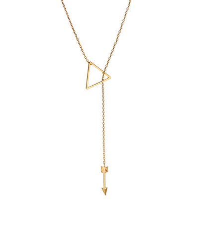 Triangle,Arrow,lariat,necklace,triangle, necklace, boho, arrow, jewelry, accessories, minimal, arrow necklace, triangle necklace, gold necklace