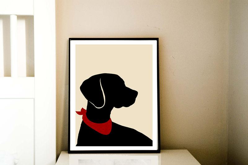 ... Vizsla Dog Art - Fine art print, viszla Dog Print, vizsla