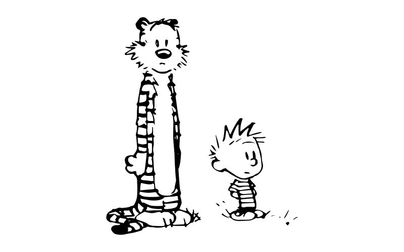 CALVIN and HOBBES - product images  of