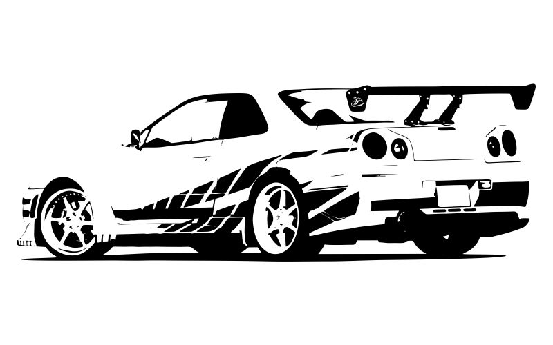 FAST AND FURIOUS - Nissan Skyline - product images  of