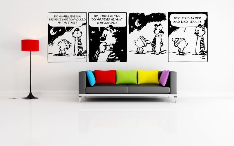 CALVIN and HOBBES | CONTROLLED BY THE STARS - product images  of