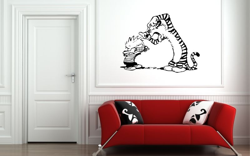 calvin and hobbes collection stickyedge. Black Bedroom Furniture Sets. Home Design Ideas